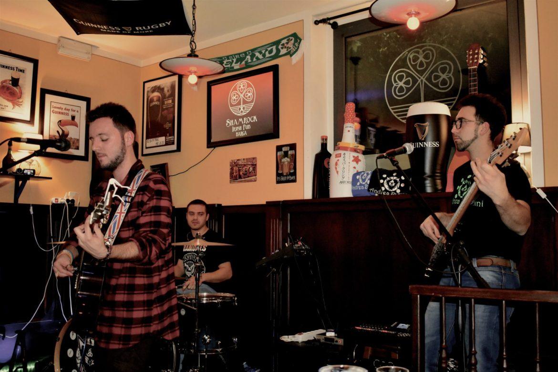 Shamrock Band live