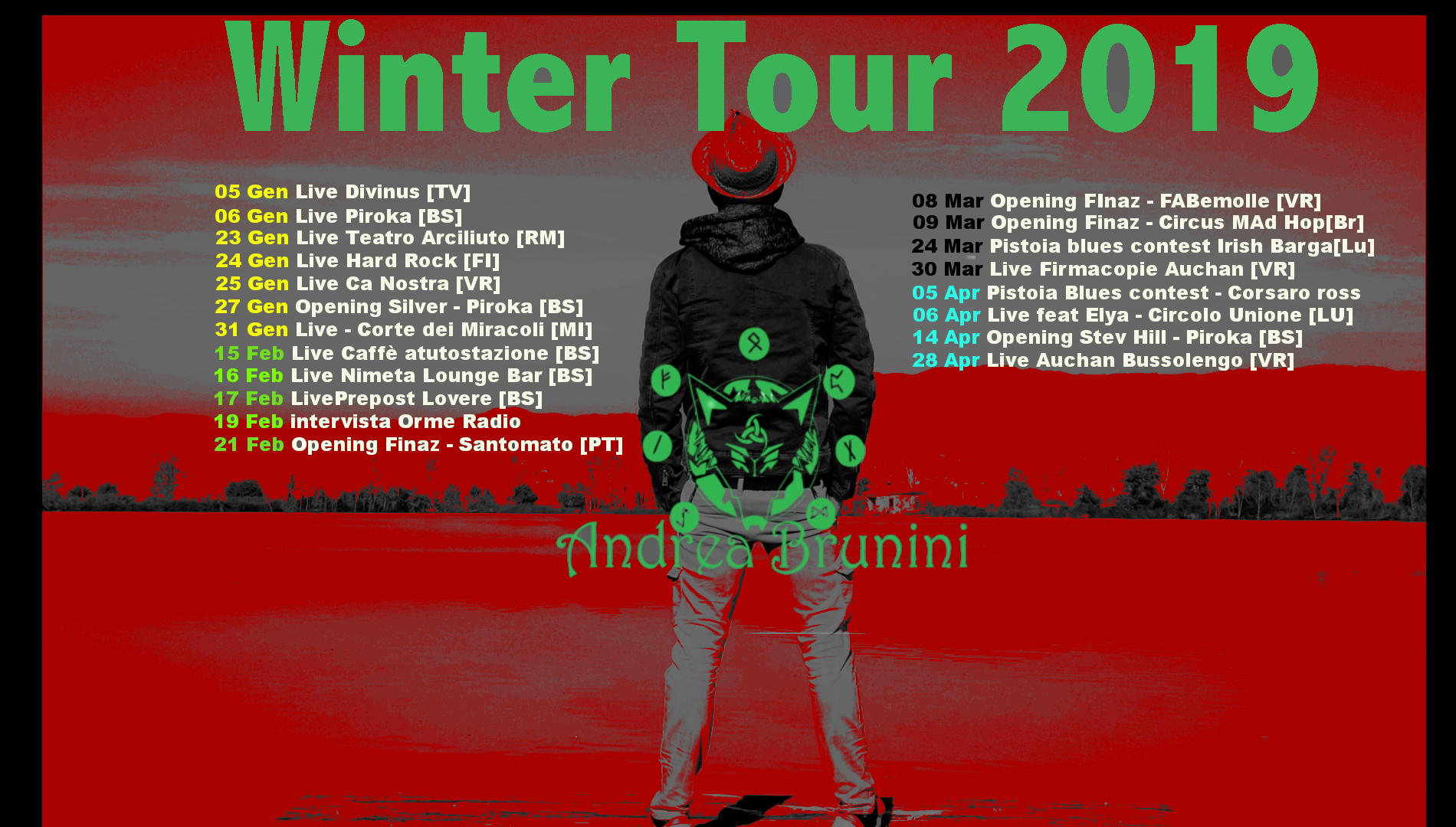 Winter Tour 2019